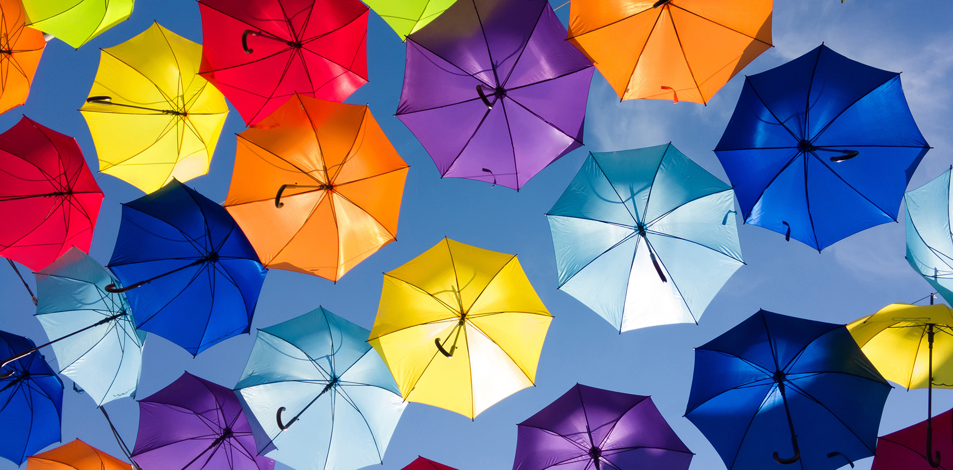umbrella colorful