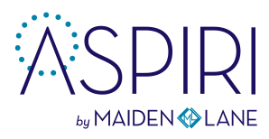 ASPIRI by MAIDEN LANE LOGO